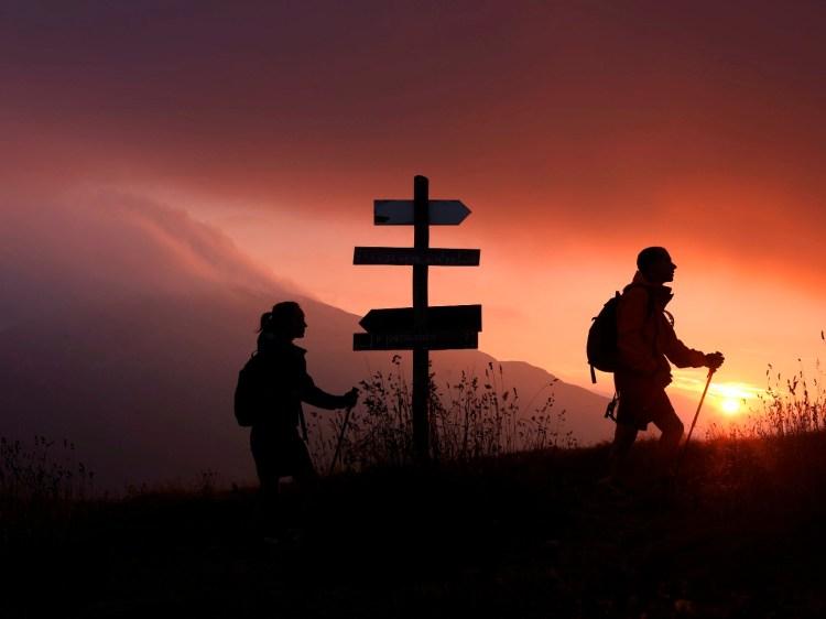 sentiero montagna
