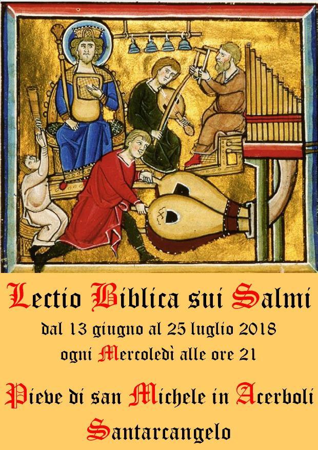 Lectio sui salmi - pannello