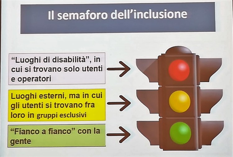 semaforo dell'inclusione